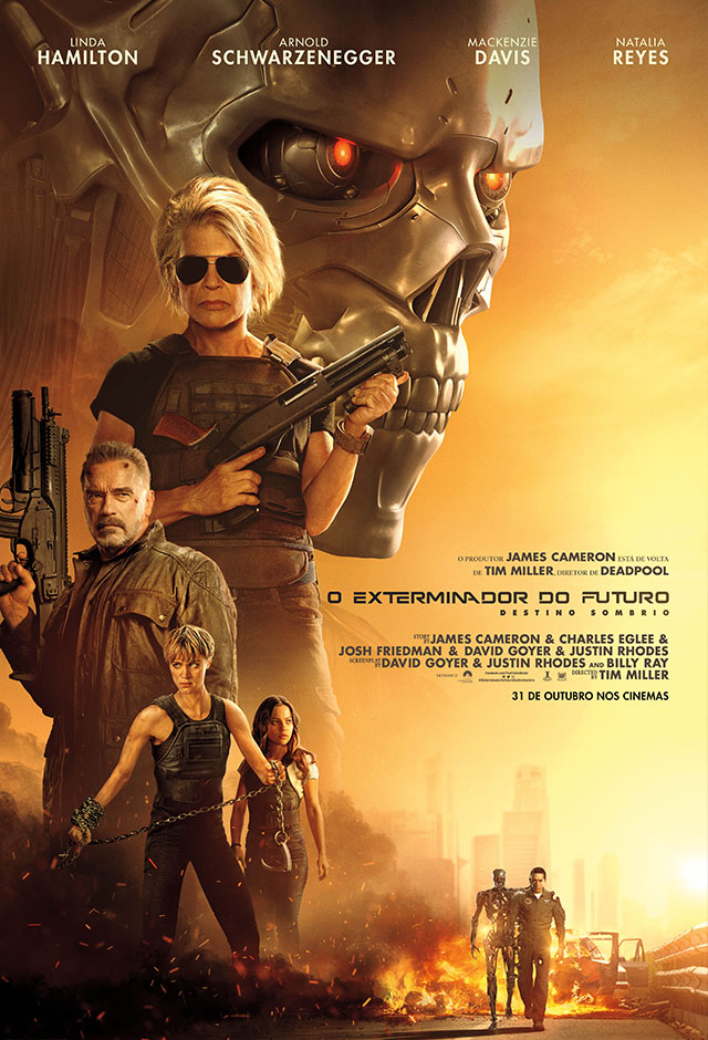 Filme: O Exterminador do Futuro: Destino Sombrio