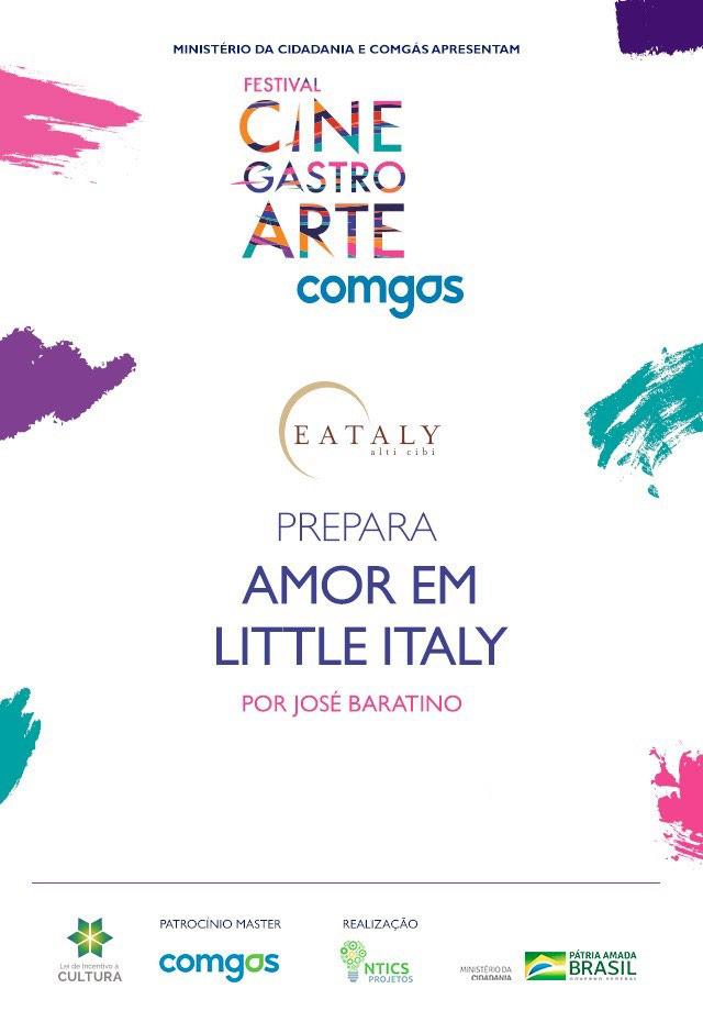 Filme: Eataly Prepara Amor em Little Italy