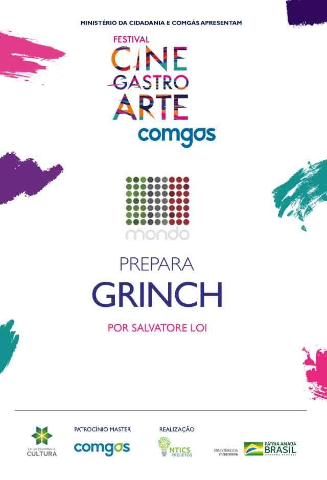 Filme: Mondo Gastronomico Prepara O Grinch