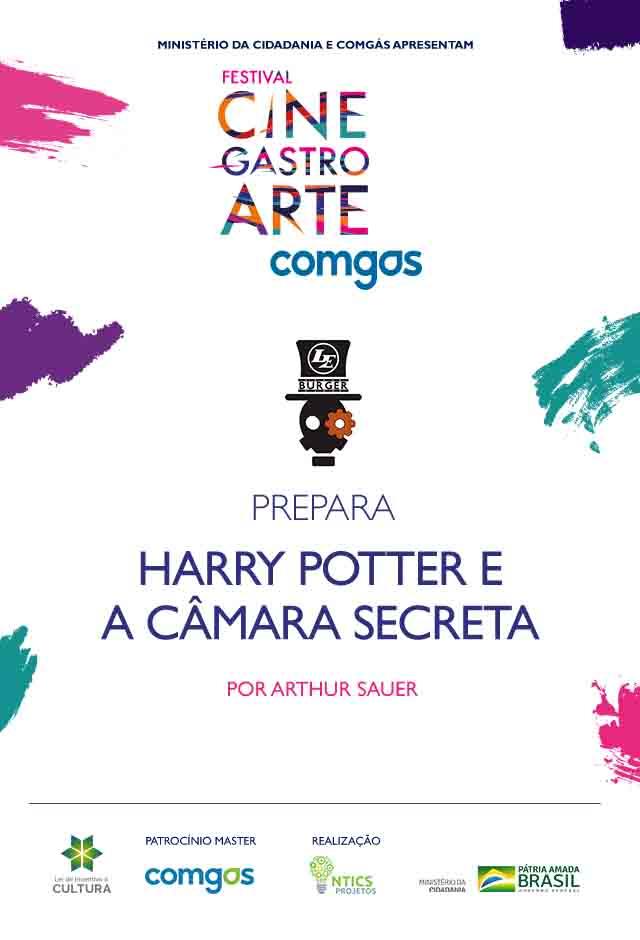 Filme: Le Burguer Prepara Harry Potter e a Câmara Secreta