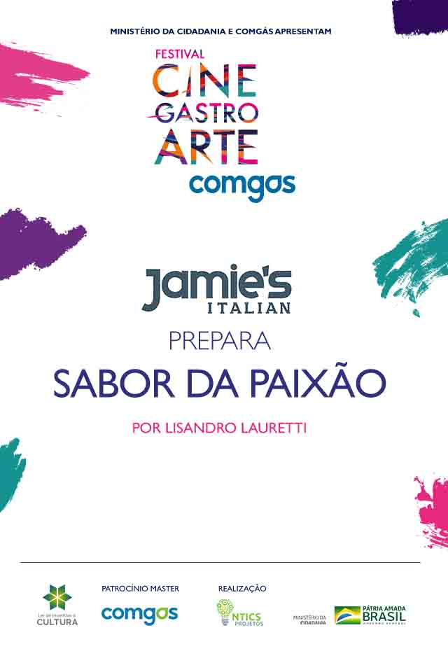 Filme: JAMIE'S ITALLIN PREPARA O SABOR DA PAIXAO