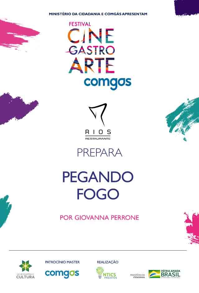 Filme: RIOS RESTAURANTE PREPARA PEGANDO FOGO