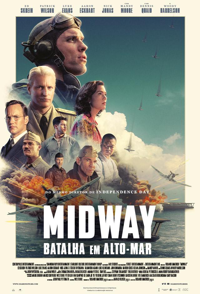 Filme: Midway - Batalha em Alto Mar