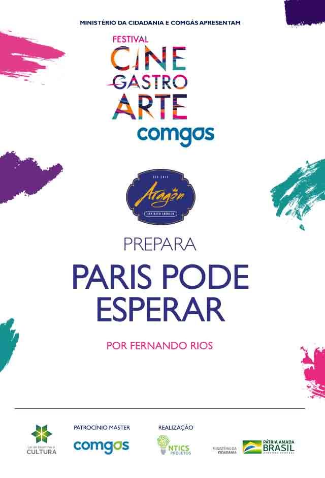Filme: Aragon Prepara Paris Pode Esperar
